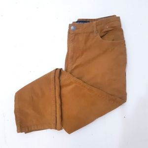 Denim&Co Camel Corduroy Jeans